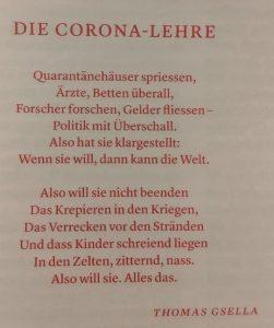 Gedicht Thomas Gsella